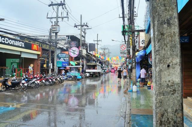 Rua principal de Phuket