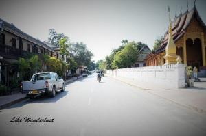 Ruas de Luang Prabang