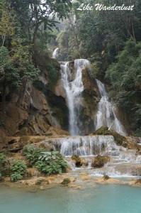 Cachoeira principal Tat Kuang Si