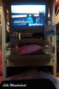 Cama com televisao