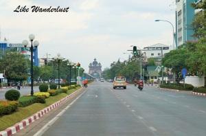 Ruas de Vientiane