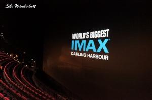 IMAX a maior tela de cinema do mundo