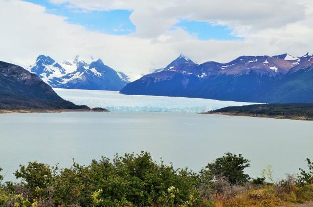 Vista do Glaciar Perito Moreno